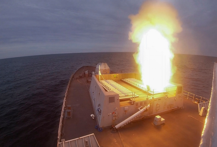 Royal Navy Tests Artificial Intelligence Against Supersonic Missiles