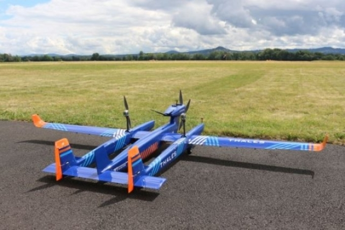 Thales' New Long-Range Surveillance Drone 'UAS 100' Completes First Flight