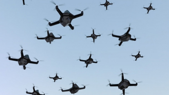 Israel used swarm of drones to attack Hamas