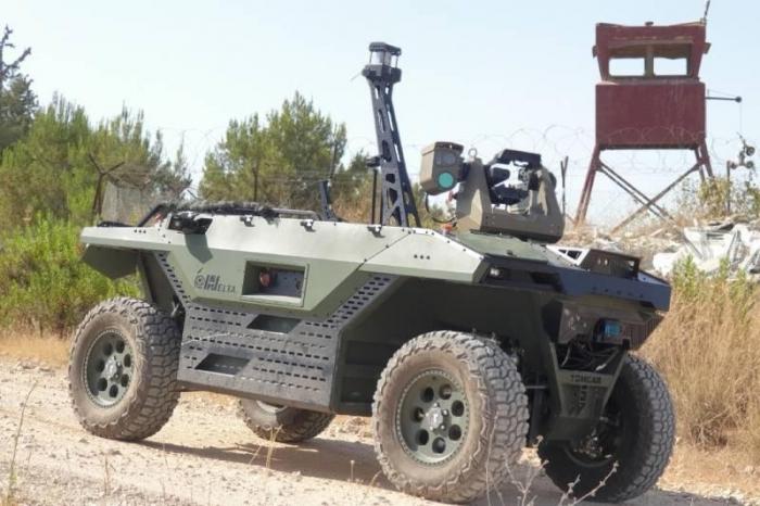 İsrail Britaniyaya patrul robotları satır