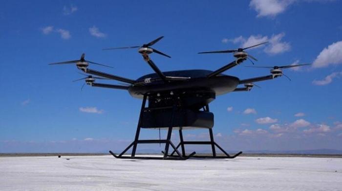"""IDEF-2021:  150 kiloqram yük daşıya bilən """"Kargo-150"""" PUA-ları"""