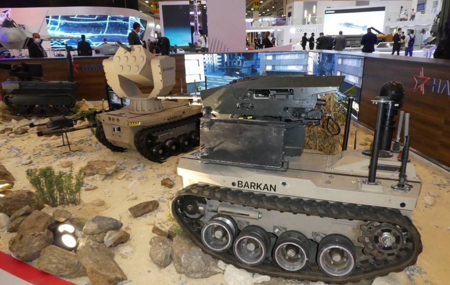 IDEF 2021:  Havelsan showcases autonomous unmanned aerial and land vehicles