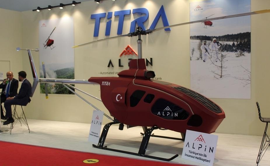Türkiyənin ilk pilotsuz helikopteri nümayiş olundu-  ALPiN