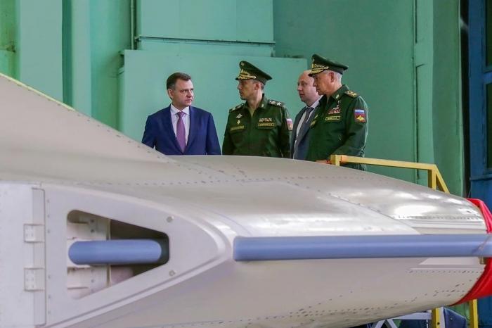 Russia unveils production line of Okhotnik combat drone