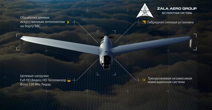 """Rusiyanın """"Zala Aero"""" PUA-sı peyk naviqasiyası olmadan 12 saatlıq uçuş həyata keçirib"""